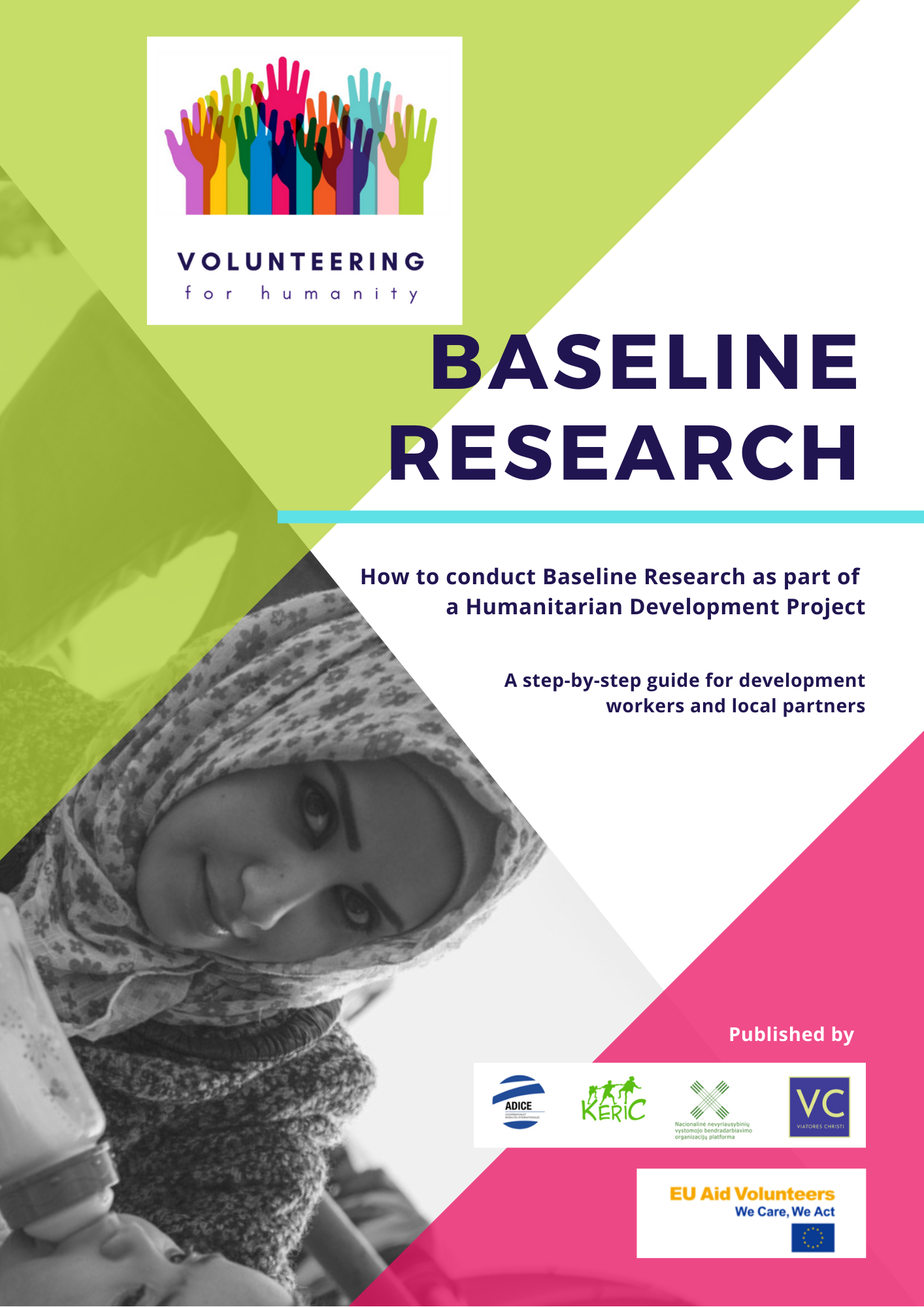 Baseline Research eBook cover Volunteering for Humanity