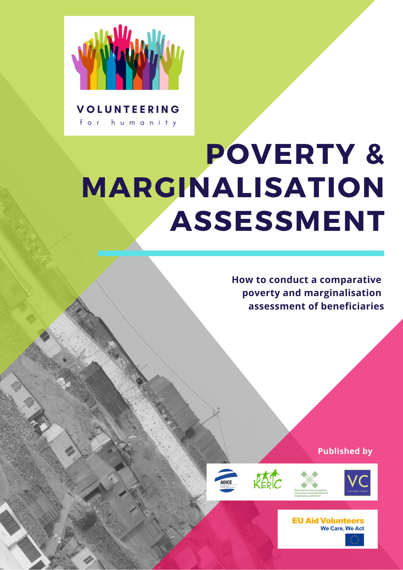 Cover of poverty and marginalisation ebook for Volunteering for Humanity